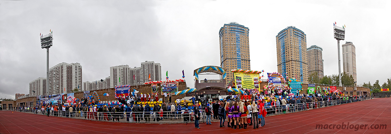 Строгино. Спартакиада Мослифта 2012