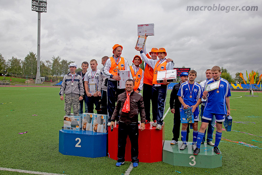 Спартакиада Мослифта 2012